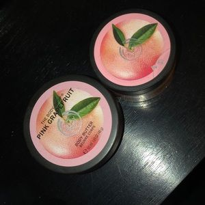 """""""The Body Shop"""" Wash and Lotion"""